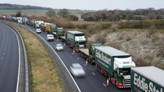 Operation Brock: Kent gets £29m to make roads Brexit-ready