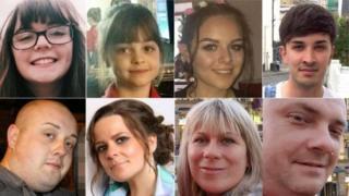 Vítimas de ataque em Manchester