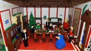Part of Lego doll's house