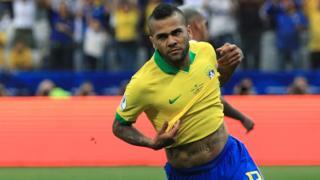 Dani Alves na Brazil