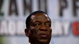Emmerson Mnangagwa at Zanu-PF central committee - 14 December