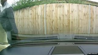 Man allegedly keying car