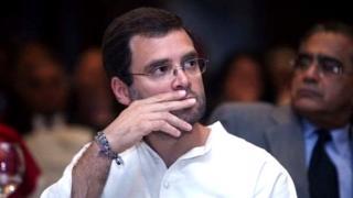 இந்திய தேசிய காங்கிரஸ் கட்சியின் தலைவர் ராகுல் காந்தி