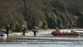 River Gannel rescue, March 2018