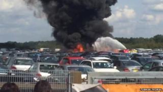 Blackbushe crash