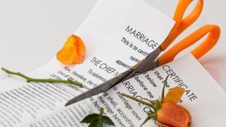 Divorce paper.
