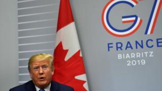 Трамп на саммите G7