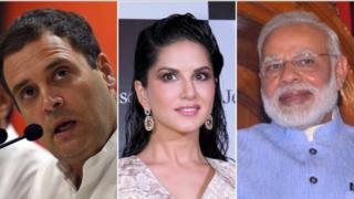 राहुल, सनी लिओनी आणि मोदी