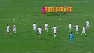 Equipos de fútbol de Arabia Saudita y de Australia
