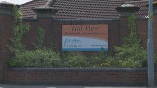 Hill View nursing home in Clydebank