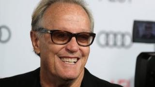 Peter Fonda pictured in 2017