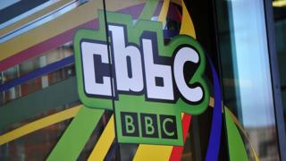 The CBBC studio in Media City
