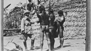 Rondon com índios