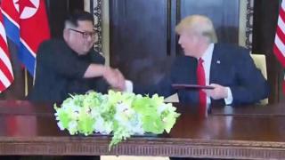 Líderes da Coreia do Norte e EUA se encontram