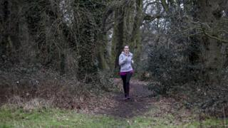 Beth running