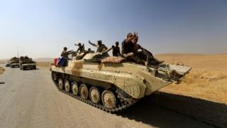 عناصر من الجيش العراق