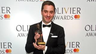 James Graham at the 2018 Olivier Awards