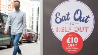 Eat Out to Help Out sign