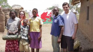 The charity Pont works with the Ugandan town of Mbale