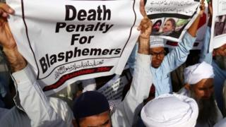 مردم پاکستان به شدت از اجرای احکام سنگین برای افرادی که به جرم کفرگویی محکوم میشوند، حمایت میکنند