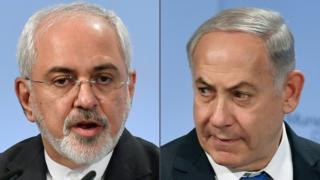 Zarif ve Netanyahu