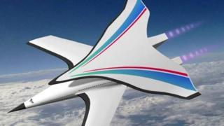 Design proposto para o avião