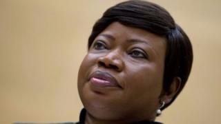 Umushikirizamanza wa ICC Fatou Bensouda ava mu gihugu ca Gambia