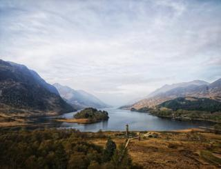 Photo taken at the Glenfinnan monument on Saturday by Stewart Beattie
