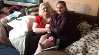 Jo Cordock and her daughter Lydia