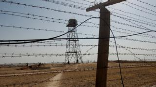 A security post along the 1,400 kilometre long Tajik-Afghan border