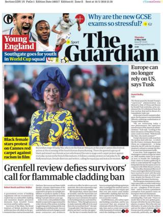 The Guardian Thursday