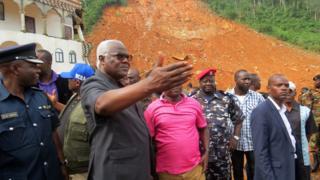 Sierra Leone Devlet Başkanı Ernest Bai Koroma