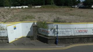 Former cattle mart, Abergavenny