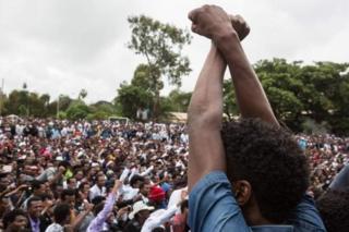 Intara za Amhara na Oromia zimaze imyaka itatu zirangwamwo imyiyerekano