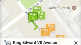 Image of parking app