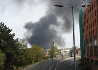 Derby explosion