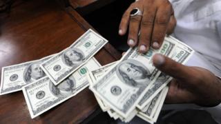 پاکستان ، ڈالرنوٹ