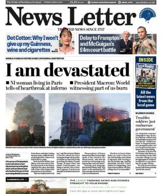 News Letter front page