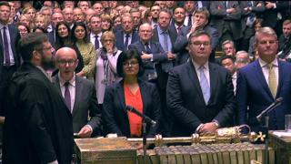 MPs vote recorded