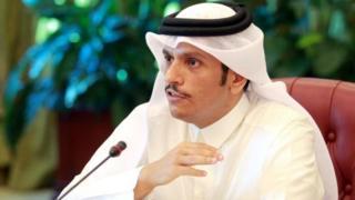 Тышкы иштер министри Мохаммед Абдель Рахман аль-Тани.