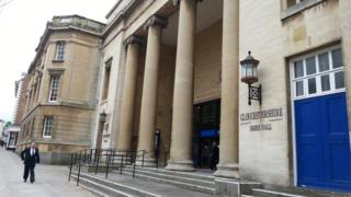 Shire Hall, base of Gloucestershire County Council