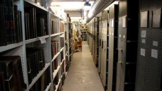 The Leeds Library basement