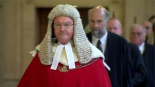 Lord Chief Justice Declan Morgan, file pic
