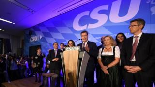 CSU leaders on election night