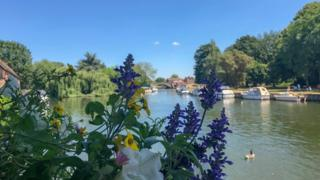 By the River Thames in Abingdon