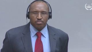 Bosco Ntaganda ahagurutse ngo abwirwe igihano n'urukiko
