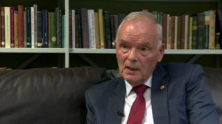Widow of prison officer commends David McIlveen's compensation comments
