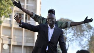 L'opposant Idrissa Seck, ici en 2012, a été arrêté jeudi à Dakar.