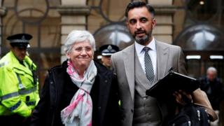 Clara Ponsati and Aamer Anwar