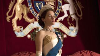 "Claire Foy en ""The Crown"""